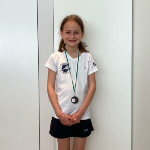 3. Platz Bezirksmeisterschaften U9 Juniorinnen